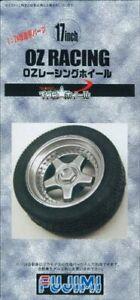 Fujimi-model-1-24-THE-wheel-series-TW55-17inch-OZ-racing-wheel