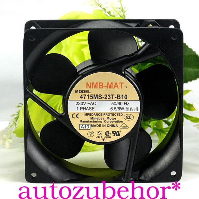 1pc NMB 4715MS-23T-B20 12038 230V 7.5W 12 cm cabinet Cooling fan#zh