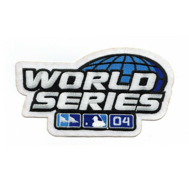 2004 MLB World Series Sleeve Jersey Patch Boston Red Sox vs. St. Louis Cardinals