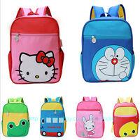 Baby Children Kids Girls Boys Cartoon Backpack Shoulder Pre School Bag Rucksack
