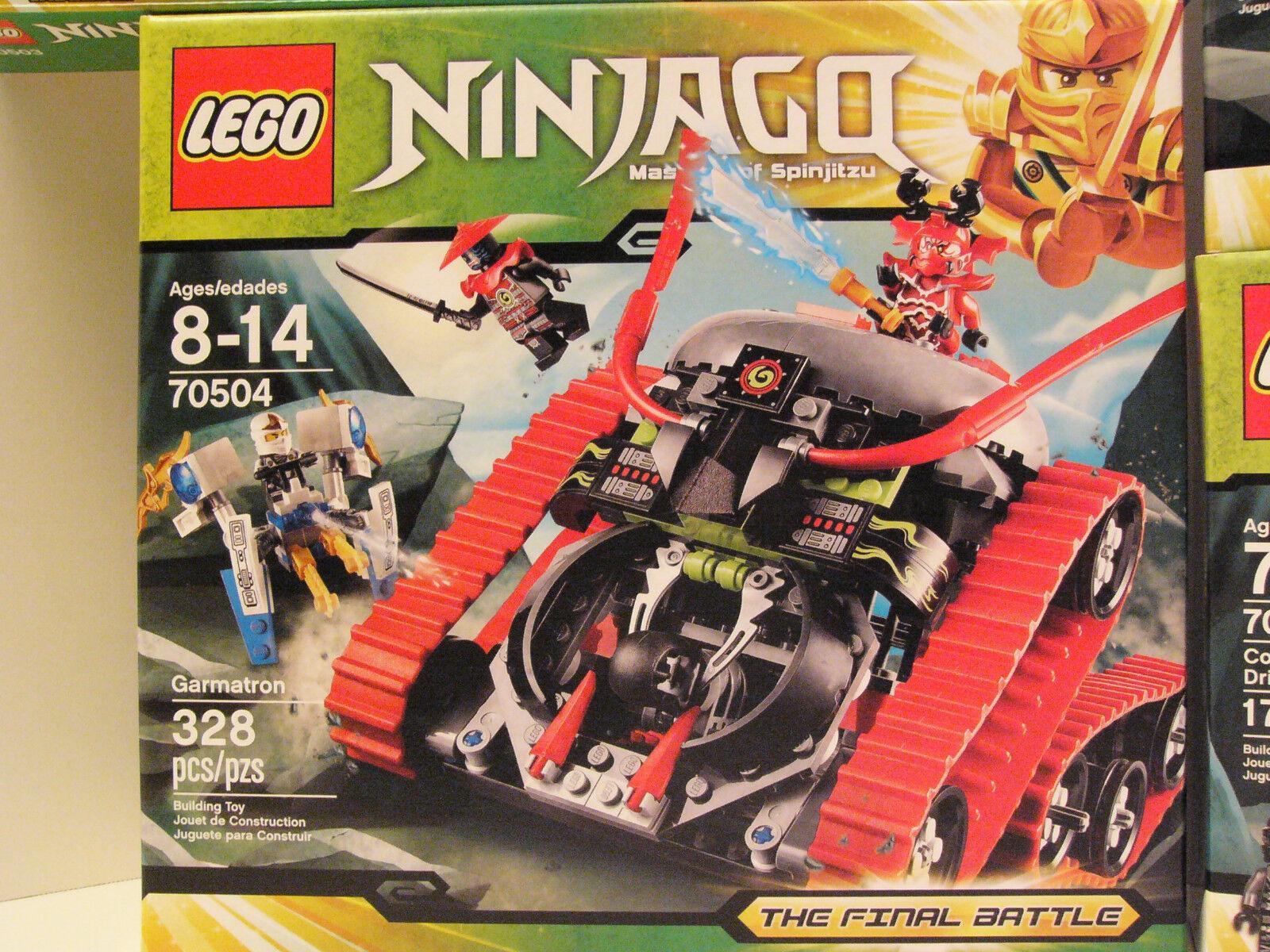 LEGO LEGO LEGO Ninjago 70504 Garmatron New and Factory Sealed f216d8