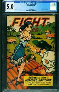 Fight Comics #47 CGC 5.0 1946- Senorita Rio- Matt Baker 2025566018