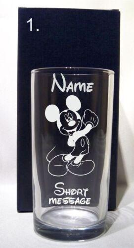 Personnalisé Gravé Disney Design toute occasion à WHISKY//Verre Tumbler Cadeau