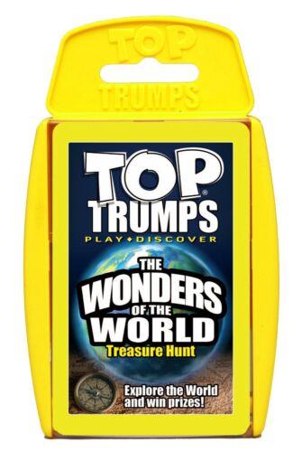 Top Trumps-las maravillas del mundo