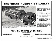 HIGH POINT NC  10-A FIRE DEPT. HAS A DARLEY FIRE ENGINE  1969  AD      6777