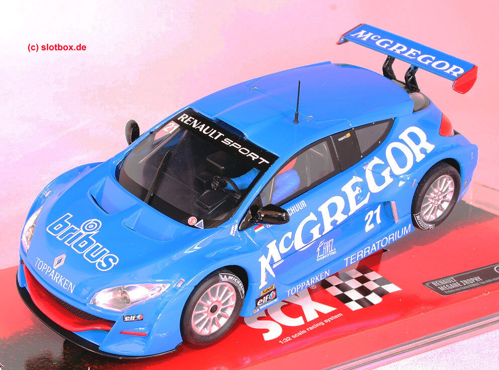 SCX Ref. 64640 Renault Megane Trophy   McGREGOR Scalextric Tecnitoys 1 32 New