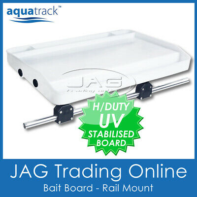 Boat//Fishing//Fish Cutting Board AQUATRACK H//DUTY BAIT BOARD /& ROD HOLDER MOUNT