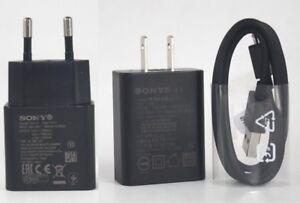 Original-UCH12-Fast-Wall-Charger-USB-For-Sony-Xperia-1-10-Plus-XZ4-XZ3-XA2-Ultra