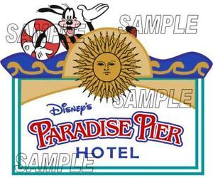 Disneyland California Adventure Scrapbook Paper Die Cut Piece