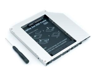 9 mm SATA SSD HDD Festplatte Caddy für DVD-ROM CD Serial ATA Sata III OC