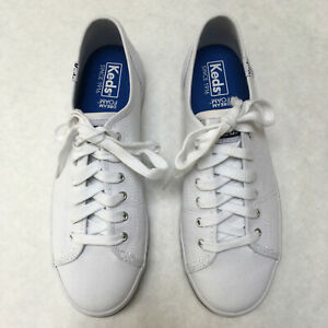 Kickstart White Slip-On Sneaker Lace-Up
