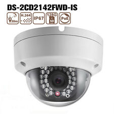 Hikvision DS-2CD2142FWD-IS 4MP Dome CCTV IR IP Kamera 1K10 WDR POE Security Cam
