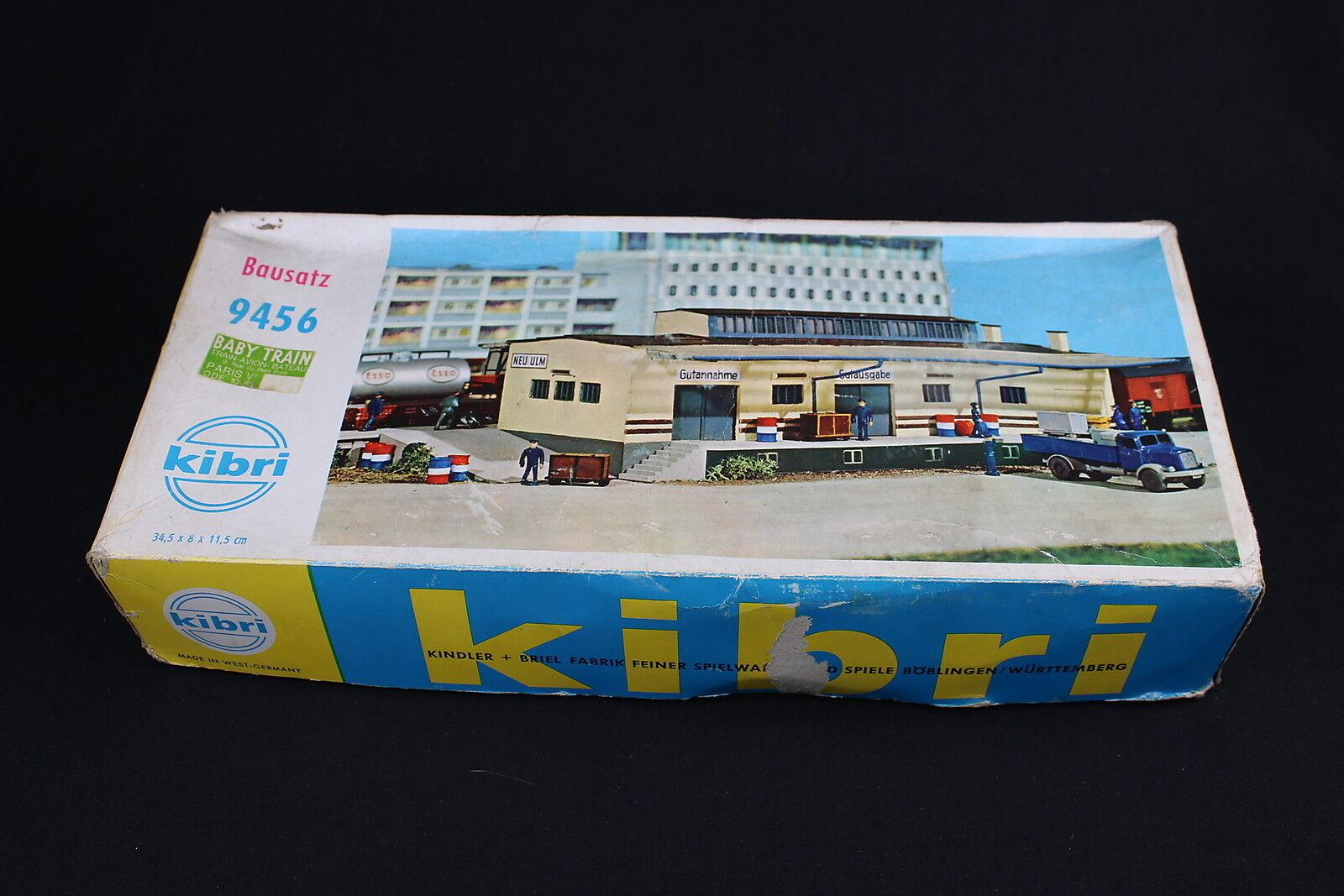 Vehículo w145 w145 w145 kibri Train maquette Ho 9456 vehículos marchandises Gare diorama guterschuppen 96e