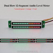Audio Level Meter Indicator Music Spectrum Display Board Dual Row 12 Segment