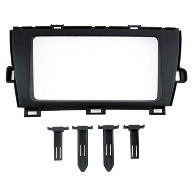 Car Stereo Radio Fascia Panel Trim Kit 2 Din Frame For Toyota Prius  2009-2012