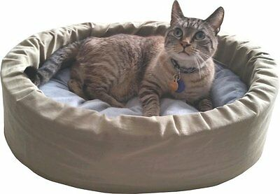 Organic & Natural Small Dog/Cat Bed with no