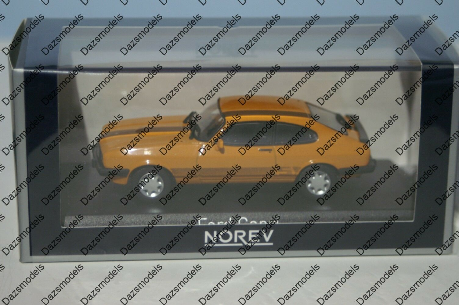 Norev Ford Capri Mk3 orange Mk3 1980 1 43 Diecast 270563