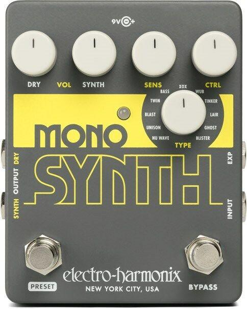 Electro-Harmonix Mono Synth Guitar Synthesizer Pedal
