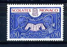 """MONACO - 1963 - Esposizione internazionale di filatelia educativa """"Scolatex"""""""