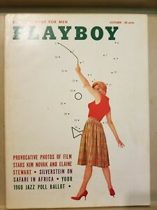 Playboy-October-1959-Very-Good-Condition-Free-Shipping-USA