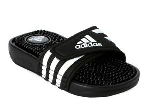43f64c3c8d8e5 Details about New ADIDAS Adissage K Black/white Slide In Sandal Shoes  Unisex Kids Size 1 US
