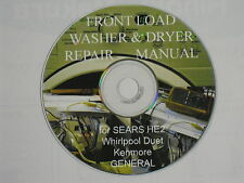 FRONT LOADING AUTOMATIC WASHER, and DRYER SEARS –HE2 PLUS GENERAL REPAIR  MANUAL