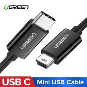 Ugreen-Mini-USB-Type-C-Cable-USB-C-to-Mini-USB-for-Digital-Camera-PS3-iMac-Pro