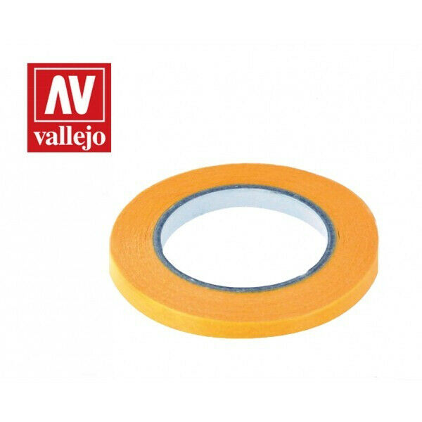 VALLEJO TOOLS PRECISION MASKING TAPE 6MMX18M - TWIN PACK