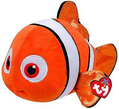 Nemo Mittelgroße Plüsch Disney Glanz Ausgezeichnet Im Kisseneffekt Plüsch Bean Bags FleißIg Ty Sitzsack Babies Findet Dory