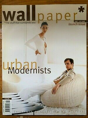 Wallpaper Magazine Issue 1 September October 1996 Tyler Brule Period Ebay