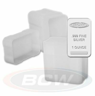 Heavy Duty Protection Snap Lock Holds 20 Bars CoinSafe 1oz Silver Bar Tube