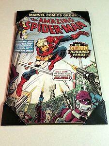 Marvel Comic Amazing Spider-Man  Wall Art 13 x 19 Art Deco Style