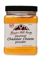 Cheddar Cheese Powder By Hoosier Hill Farm 1 Lb 1 Pound Free Shipping