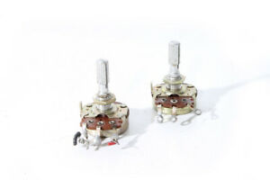 1-X-Potentiometer-Noble-Rotary-Switch-DDR-RFT-Vintage-Drehpoti