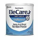 EleCare 55253 Jr Unflavored 1 Case 14.1oz Can Powder