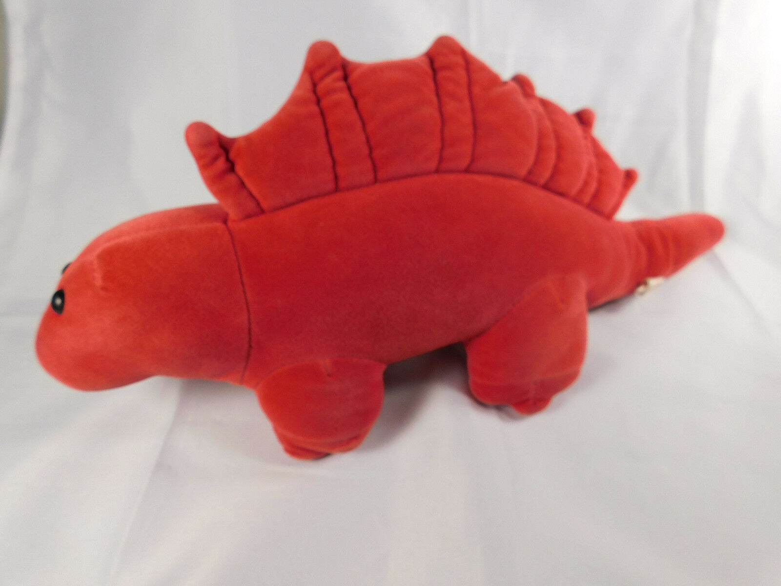 Manhattan Toy Company ROT Dimetrodon Dinosaur 1984 Vintage Plush Toy