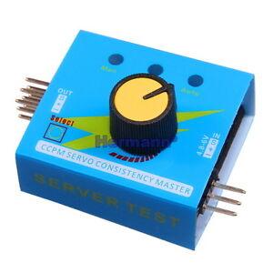 Servotester-CCPM-Master-Servo-Tester-Check-Regler-Multi-ESC-Speed-Controler