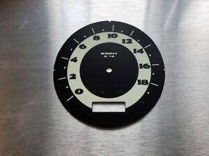 Harley-D-Softail-FLSTN-deluxe-Tachoscheibe-Fatboy-Gauge-Speedometer-Tacho-new