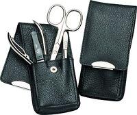 Becker-manicure Erbe Solingen 4 Piece Manicure Set Case For Men Leather