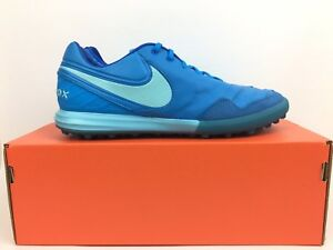 3c18151a2784 Nike Tiempox Proximo TF Size 13 Soccer Shoes Mens Blue 843962 444