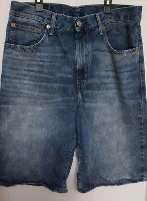 "Levi/'s® 569 Loose Straight-Fit 12 1//2/"" Inseam Denim Jean Stretch Shorts"