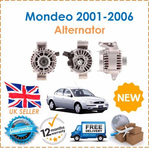 Für Ford Mondeo Mk3 2.0 2.2 Tddi Tdci Turbo Diesel 2001-2006 Lichtmaschine Neu