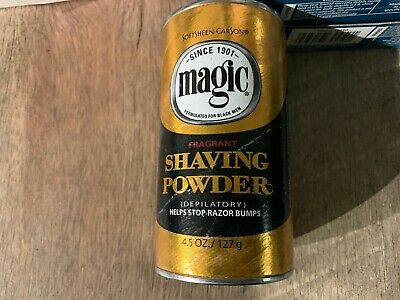 Softsheen Carson Magic Fragrant Shaving Powder 4 5 Oz In Hand As