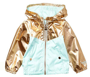 Osh Kosh B/'gosh Girls Navy Reversible Jacket Size 2T 3T 4T 4 5//6 6X