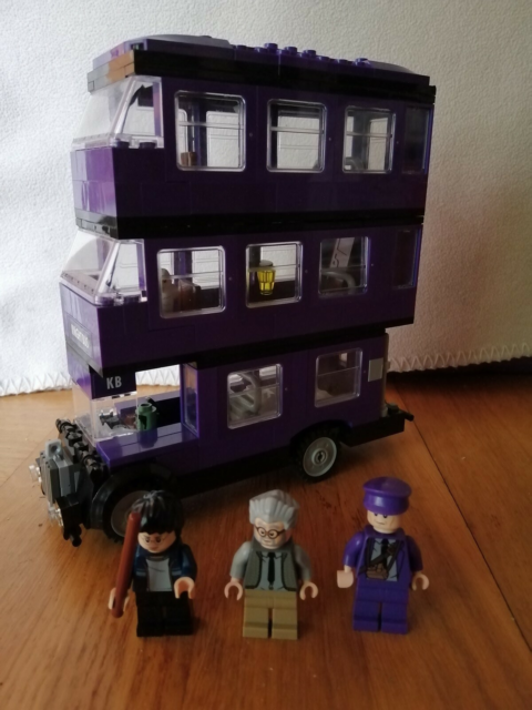 Lego Harry Potter, 4866 The Knight Bus, Natbussen.  Komplet…