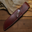 knife-blade-sheath-cover-scabbard-case-bag-cow-leather-customize-brown-Z1008 thumbnail 1