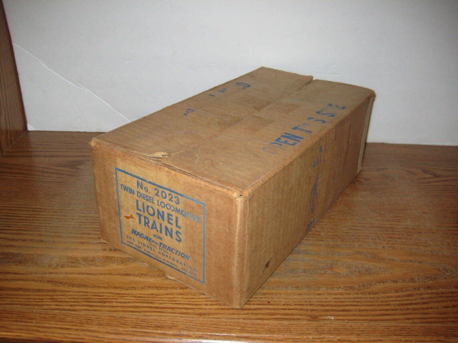Lionel Postwar 2023 Alco Master Carton & Insert (65)
