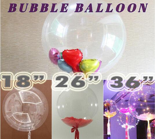 18 26 36 inch Bubble Clear Transparent Party Wedding BALON Decoration Balloons
