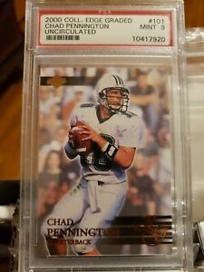 2000-Collector-s-Edge-Graded-Uncirculated-5000-Chad-Pennington-Rookie-PSA-9-MT