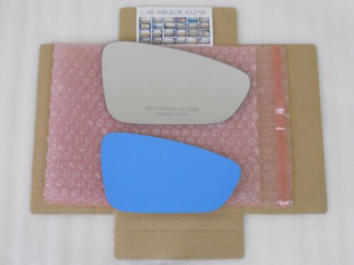 ADHESIVE D556R Mirror Glass for 2015-16 CHRYSLER 200 Passenger Side View Right